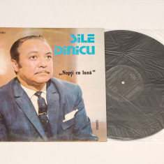 Sile Dinicu - Nopti cu luna - disc vinil nou ( vinyl, LP ) - Muzica Ambientala electrecord