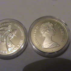 1 dollar Canada UNC 1983, America de Nord