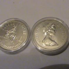 1 dollar Canada UNC 1975 argint, America de Nord
