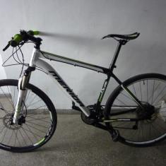 "Vind Merida Dual Race 28"" -12kg, 3x10 viteze - Bicicleta Trekking CrossBike, 19 inch, Numar viteze: 30"