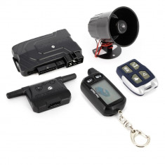 Alarma auto Carguard G2500, cu pornire motor RO- 999ALC-G2500