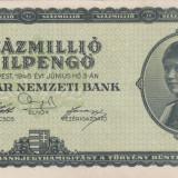 UNGARIA 100.000.000 milpengo 1946 aXF!!! - bancnota europa