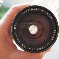 Obiectiv Cosina 28-70 mm,1: 4, montura Pentax