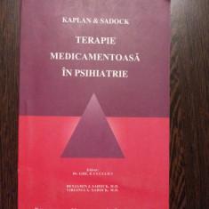 TERAPIE MEDICAMENTOASA IN PSIHIATRIE - Benjamin J. Sadock, Virginia A. Sadock - Carte Psihiatrie