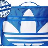 Geanta Adidas Originals Airliner - geanta originala - geanta sport - Geanta Barbati Adidas, Marime: Masura unica, Culoare: Albastru