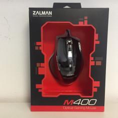 Mouse Gaming Zalman ZM-M400, USB, Optica, 1000-2000