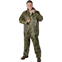 Pelerina ploaie camuflaj, costum impermeabil alcatuit din jacheta si pantaloni - Imbracaminte outdoor, Marime: M, L, XL, XXL, XXXL, Jachete