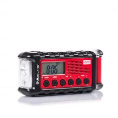 Aproape nou: Radio AM/FM cu Power Bank si lanterna Midland ER300 cod C1173 incarcar - Aparat radio