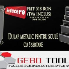 Dulap metalic pentru scule 5 sertare - Dulap scule Service