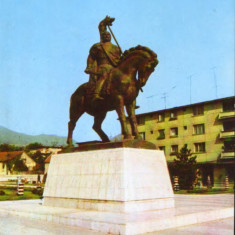 Romania - CP necirc - Deva - Statuia lui Decebal - Carte Postala Transilvania dupa 1918, Necirculata, Fotografie
