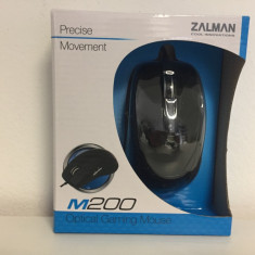 Mouse Gaming Zalman ZM-M200, USB, Optica, 1000-2000