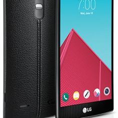 LG G4 H815 32GB Black Leather in stare impecabila ca nou - Telefon LG, Negru, Neblocat