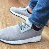 Adidasi Adidas Boost NMD barbati noi gri autentici cutie import UK 40-45