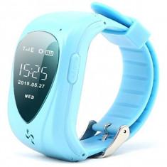 Resigilat! Ceas GPS Tracker cu Telefon pentru copii iUni U11, Alarma SOS, Blue - Ceas copii