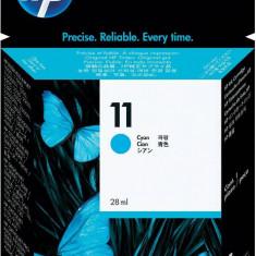 Cartuş cerneală albastru HP 11