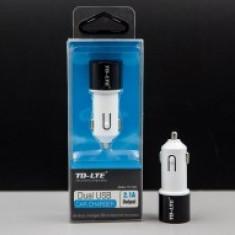 Incarcator auto universal Dual USB TD-C02