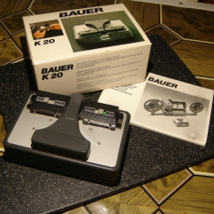 Bauer K20 super 8mm film Motor Splicer
