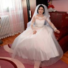 Rochie de mireasa tip printesa - Rochie de mireasa printesa