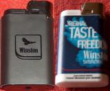 Winston : 2 brichete de colecţie, noi, Cu gaz