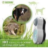 Aparat portabil cu ultrasunete si senzor PIR anti caini si pisici HK1 70565