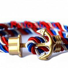 Bratara nautica YACHTING - Gold Edition - Poze reale si TRANSPORT GRATUIT - Bratara Fashion