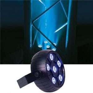 NOU! PAR PROFESIONAL CU 6 LEDURI X 3 WATT,FULL COLOR RGB,ACTIVARE LA SUNET.