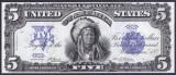 Bancnota Statele Unite ale Americii 5 Dolari 1899 - P340 ( replica )