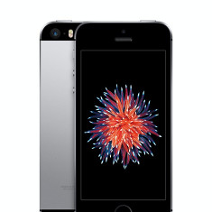 Apple iPhone SE 64GB Space Grey Sigilat Nou (codat orange ro) - Telefon iPhone Apple, Gri