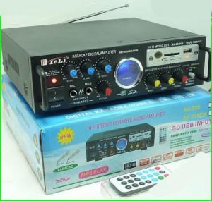 AMPLIFICATOR/STATIE PROFESIONALA KARAOKE ,MIXER,MP3 USB,EFECTE VOCE+2 MICROFOANE