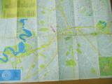 Bucuresti harta turistica Bucarest tourist map Touring A. C. R.