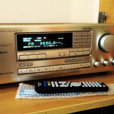 STATIE AMPLIFICATOR ONKYO TX-SV535 + PREAMPLIFICATOR OUT + TELECOMANDA NOUA - Amplificator audio Onkyo, 81-120W