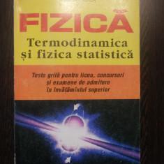 FIZICA * TERMODINAMICA SI FIZICA STATICA - Rodica Luca - 1995, 416 p. - Culegere Fizica