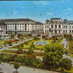 Romania - Carte postala circulata 1973 - Craiova - Centrul orasului