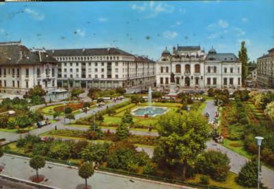 Romania - Carte postala circulata 1973 - Craiova - Centrul orasului foto