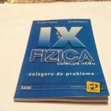 FIZICA CULEGERE DE PROBLEME PENTRU CLASA A A IX -A ARMAND POPESCU, RM2 - Carte Fizica