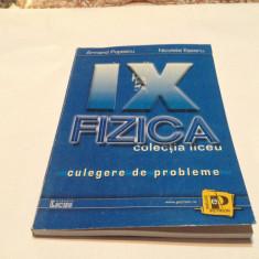 FIZICA  CULEGERE DE PROBLEME PENTRU CLASA A  A IX -A ARMAND POPESCU,RM2