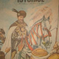 POVESTIRI ISTORICE PARTEA A 2-A AN 1990/103PAG= DUMITRU ALMAS - Carte de povesti