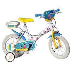 Bicicleta Peppa Pig 14 inch - Bicicleta copii Dino Bikes
