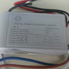 Telecomanda lustra wireless 3 canale Oliver - Corp de iluminat, Lustre