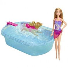 Papusa Mattel Barbie cu Catel si Cadita, 4-6 ani, Plastic, Fata