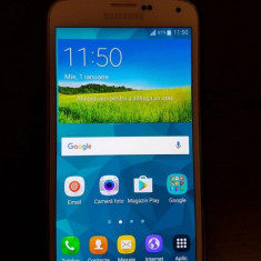 Samsung Galaxy S5 16GB - Telefon mobil Samsung Galaxy S5, Alb, Neblocat, Single SIM