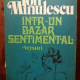 INTR-UN BAZAR SENTIMENTAL-ION MINULESCU - Roman