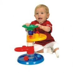Jucarie Cursa cu Bile pentru Bebelusi Miniland - Jucarie pentru patut