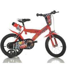 Bicicleta Cars 14 Inch - Bicicleta copii Dino Bikes