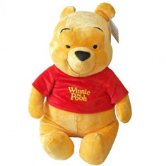 Mascota Winnie the Pooh 25 cm - Jucarii plus Disney