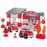 Set Statie Pompieri - Set de constructie Ecoiffier