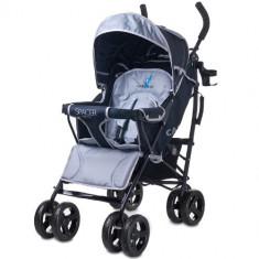 Carucior Spacer Deluxe grey - Carucior copii 2 in 1 Caretero