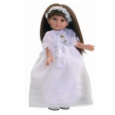 Papusa paola reina Carol Comunion, 4-6 ani, Plastic, Fata