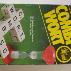 Joc educativ de format cuvinte, SISO West Germany, Combi-Wort,