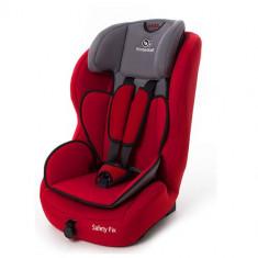 Scaun Auto Safety-Fix Red 9 - 36kg - Scaun auto copii Kinderkraft, 1-2-3 (9-36 kg), Isofix